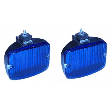 STROBOSKOPY LED 24W niebieskie 12V