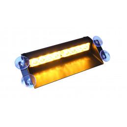Stroboskopy LED żółte 8W z...