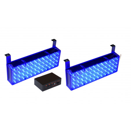 STROBOSKOPY panele LED niebieskie duże