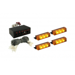 STROBOSKOPY LED 4 x 3 LED...
