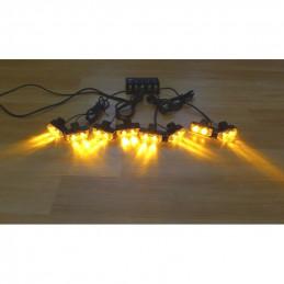 STROBOSKOPY LED 8 x 2W...
