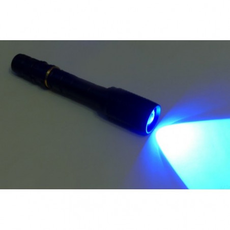LATARKA LED UV 6W ZOOM Li-ion ładowana