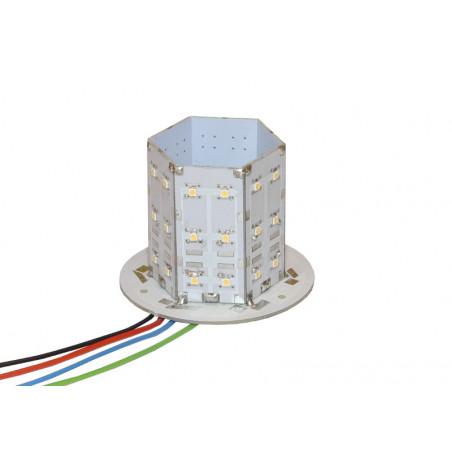 Kogut - wkład, moduł błyskowy/rotator POWER LED 4000lm 24V